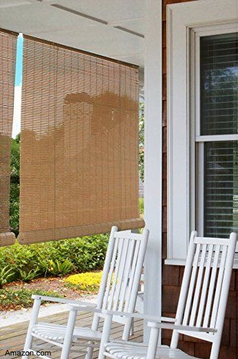 Porch Blinds Porch Shades Porch Awnings Coolaroo Shades Porch Shades House With Porch Outdoor Blinds