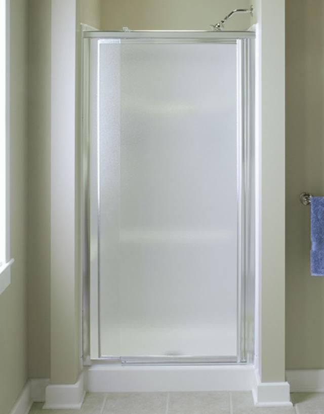 Single Glass Shower Door Glass Shower Doors Pinterest Shower