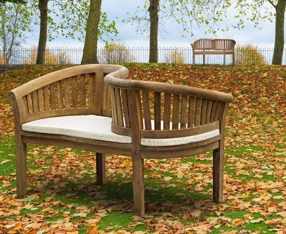 teak garden love seat love bench - Wooden Garden Furniture Love Seats