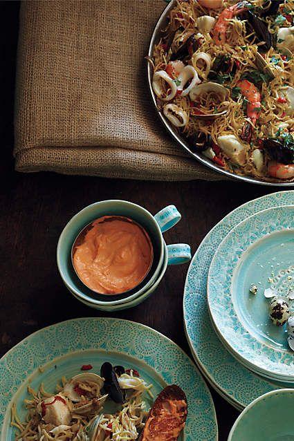 Old Havana Pitcher Dinner Plates Dinnerware Anthropologie