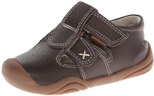 Zapatos plateado Pediped infantiles nmWv4DCG