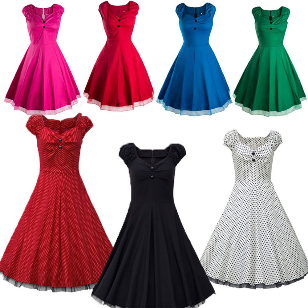 Vintage style swing us us housewife retro pinup rockabilly