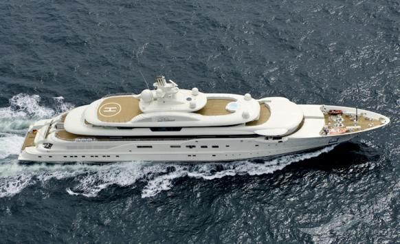 DILBAR, type:Yacht, built:2008, GT:4100, http://www.vesselfinder.com/vessels/DILBAR-IMO-9526758-MMSI-319526000