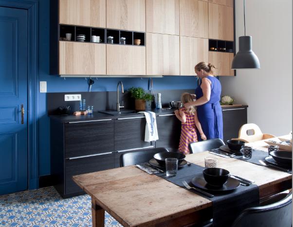 Avant/APRES IKEA | Coup coeur renovation | Pinterest | Kitchens ...
