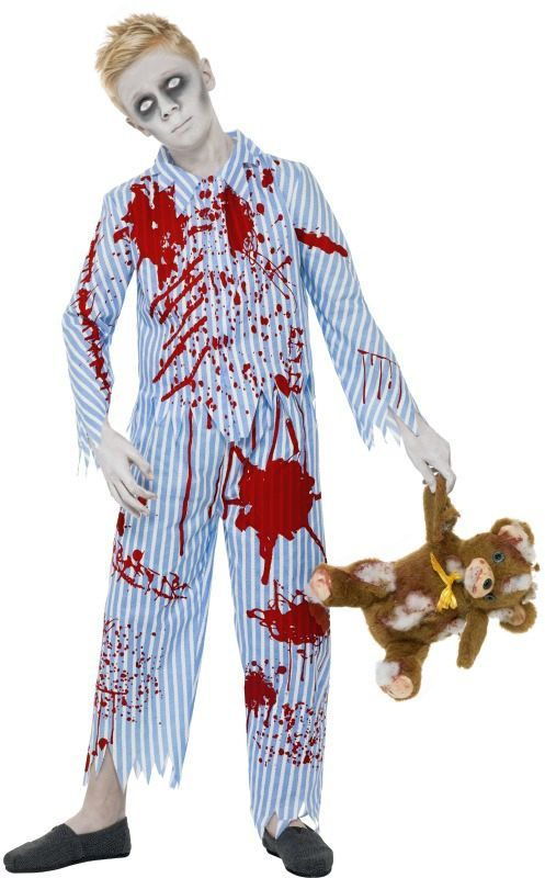 Zombie Halloween Costumes For Toddlers.Zombie Pajama Kids Costume Zombie Attack Boy Halloween