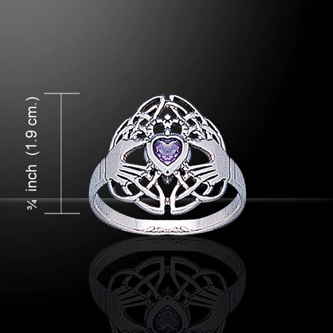 Peter Stone, the worldwide leader in Celtic and Silver jewelry-jewellery brings you the Celtic Claddagh Collection & the Celtic Claddagh & Celtic Knotwork Silver Ring!