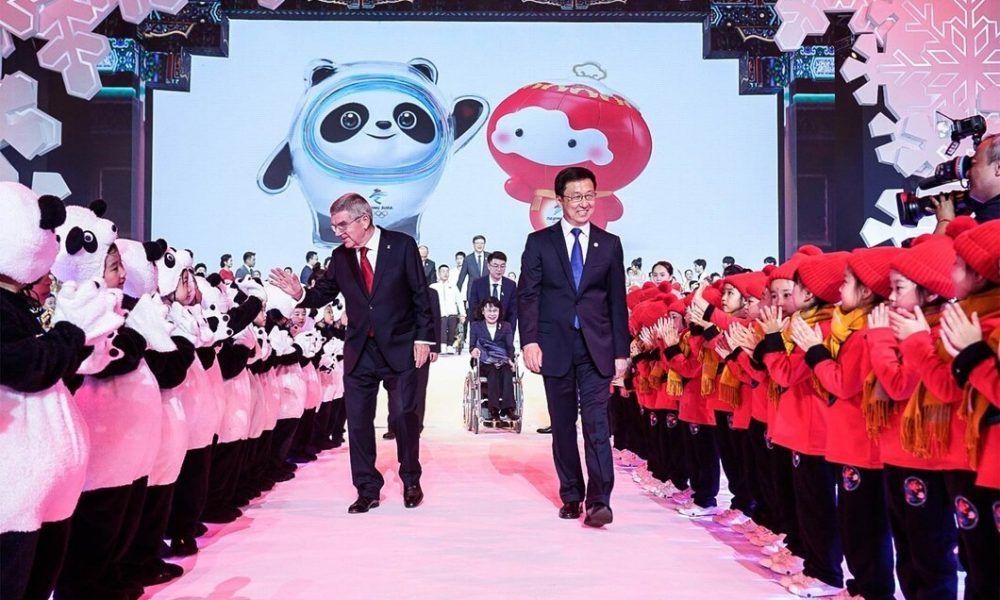 Juegos Olímpicos de invierno en Beijing 2022 presentan su