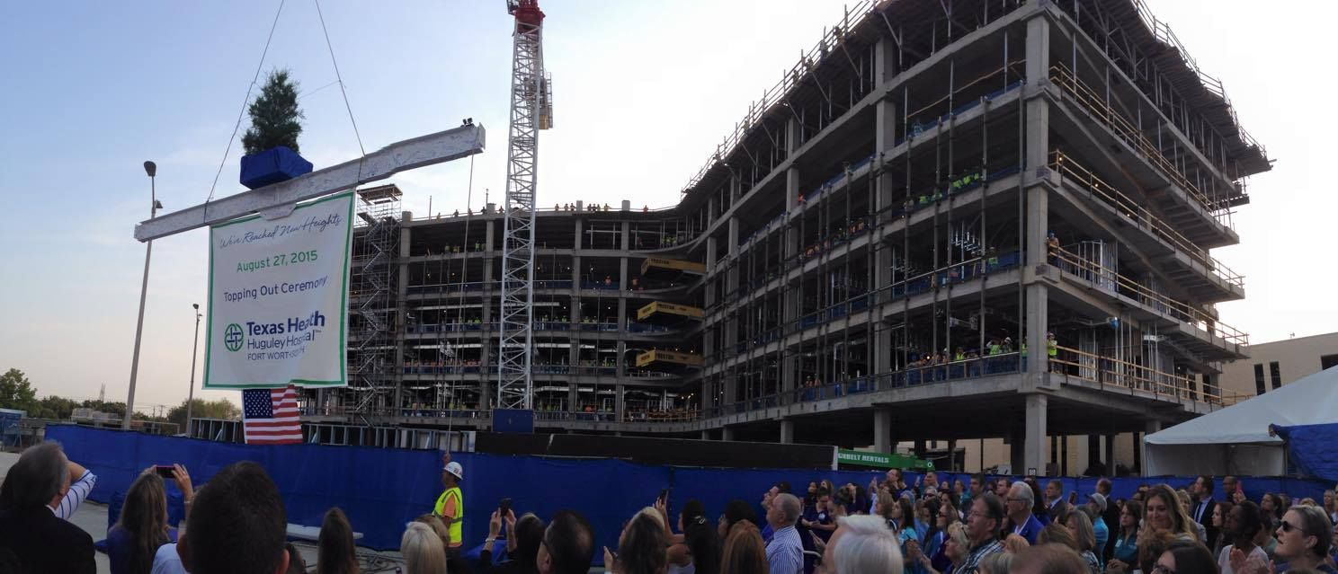 News Update Topping Out Ceremony Marks Construction