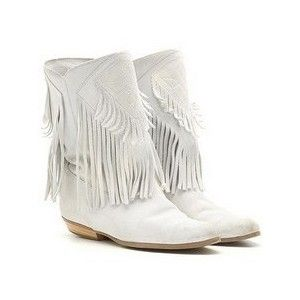 6d97d4f4c03 white boots with fringe