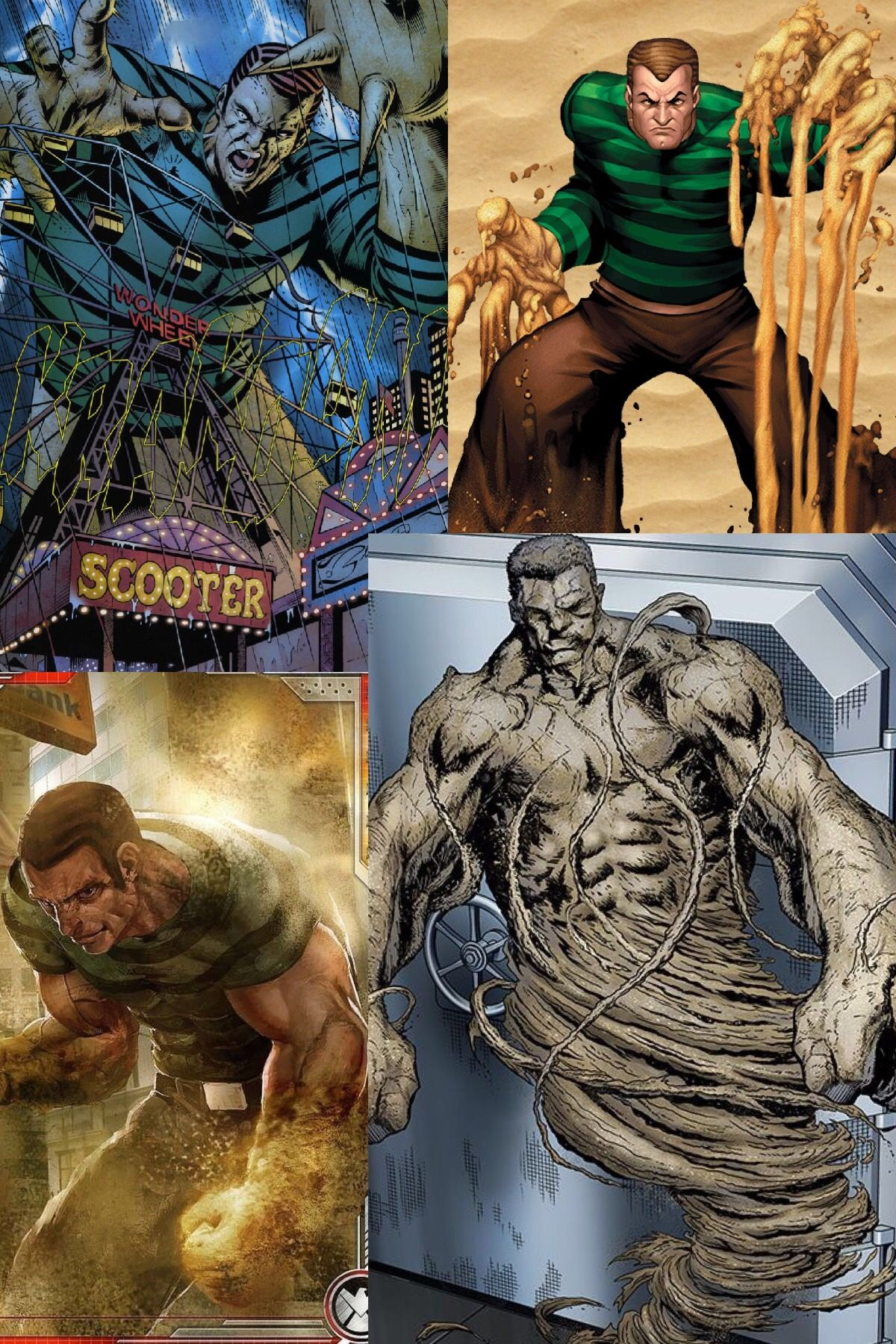 Sandman | Comic villains, Marvel comic universe, Marvel ...