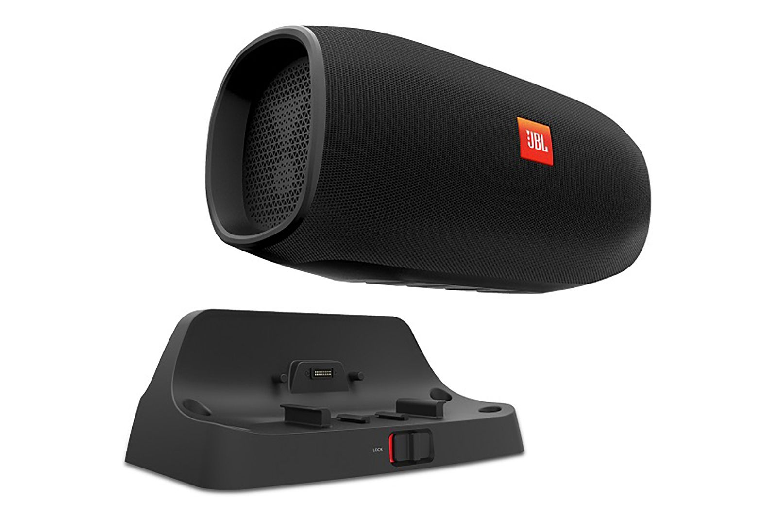 JBL's BassPro Go is a hybrid car speaker that you can undock and use as a