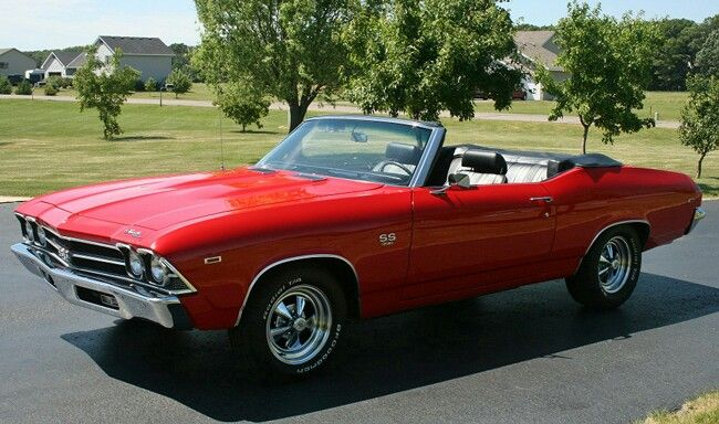 1969 Chevelle Convertible Who Wants To Buy Me One