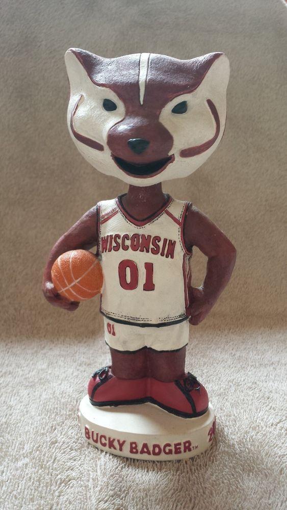 Uw Bucky Badger Bobblehead University Of Wisconsin Uwmadison