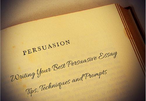 essay writing techniques best persuasive