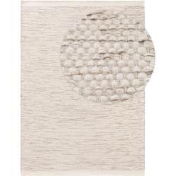 benuta Naturals Wollteppich Rocco Cream 200×300 cm – Naturfaserteppich aus Wolle…