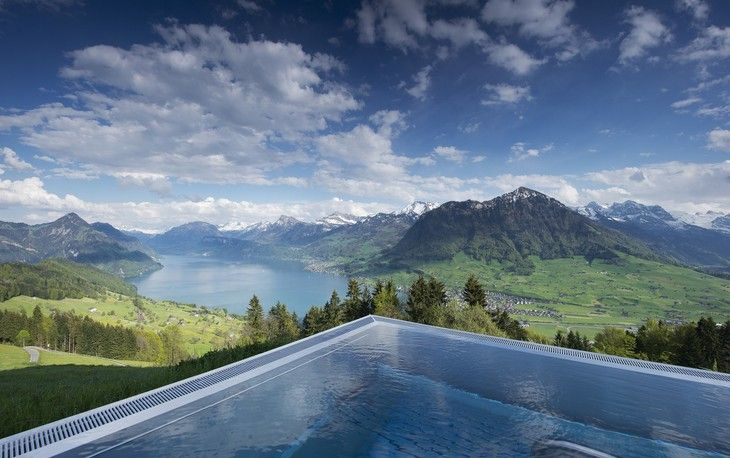 Best Hotel In Switzerland With Infinity Pool Hotel Villa Honegg Hotel Villa Honegg Villa Honegg Hotel Villa Honegg Switzerland