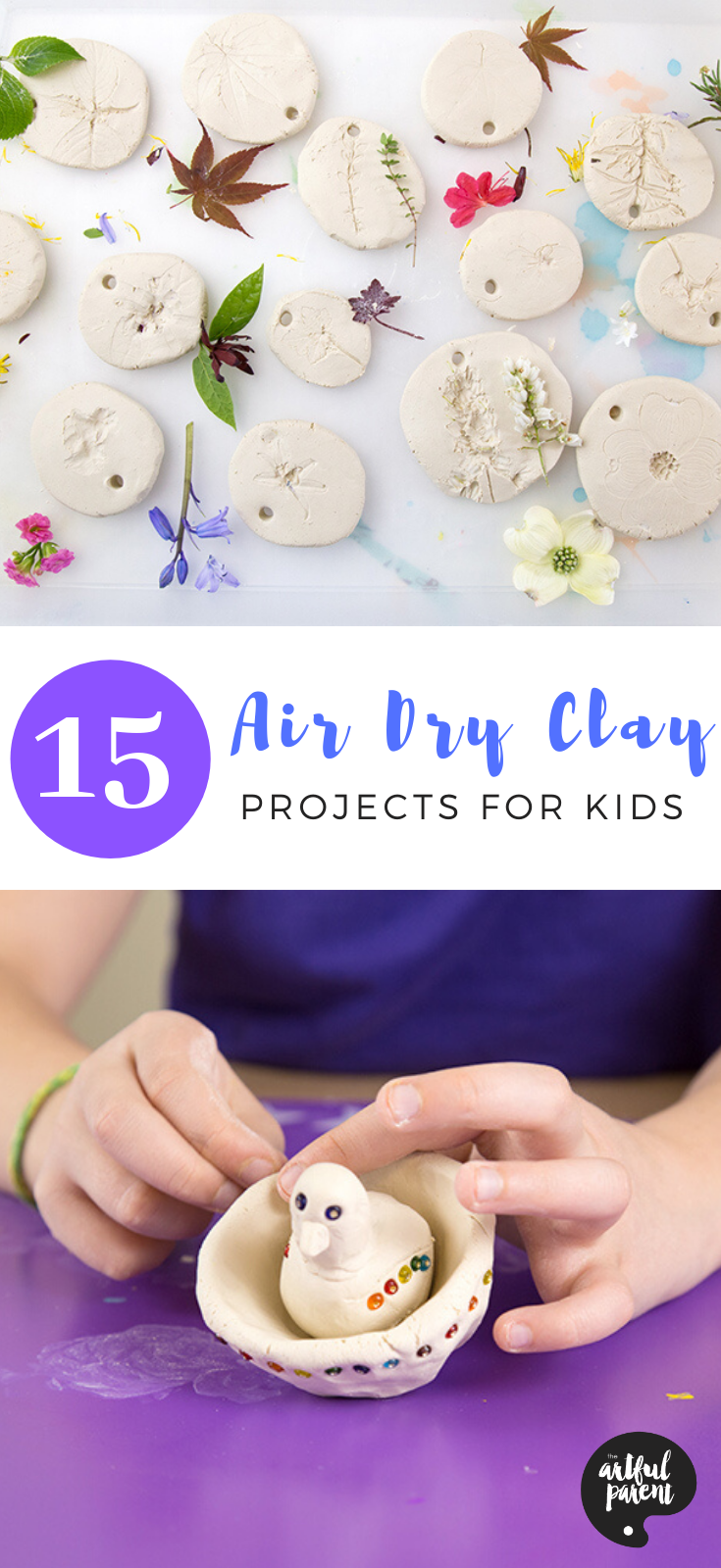 15 Amazing Air Dry Clay Projects for Kids