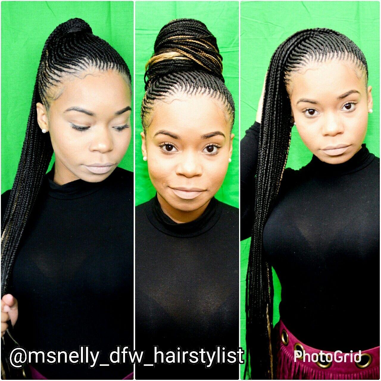 Nicki Minaj Braids Feedin Braids Feeder Braids Small Cornrow Ponytail Cornrow Ponytail Hair Styles Nicki Minaj Braids