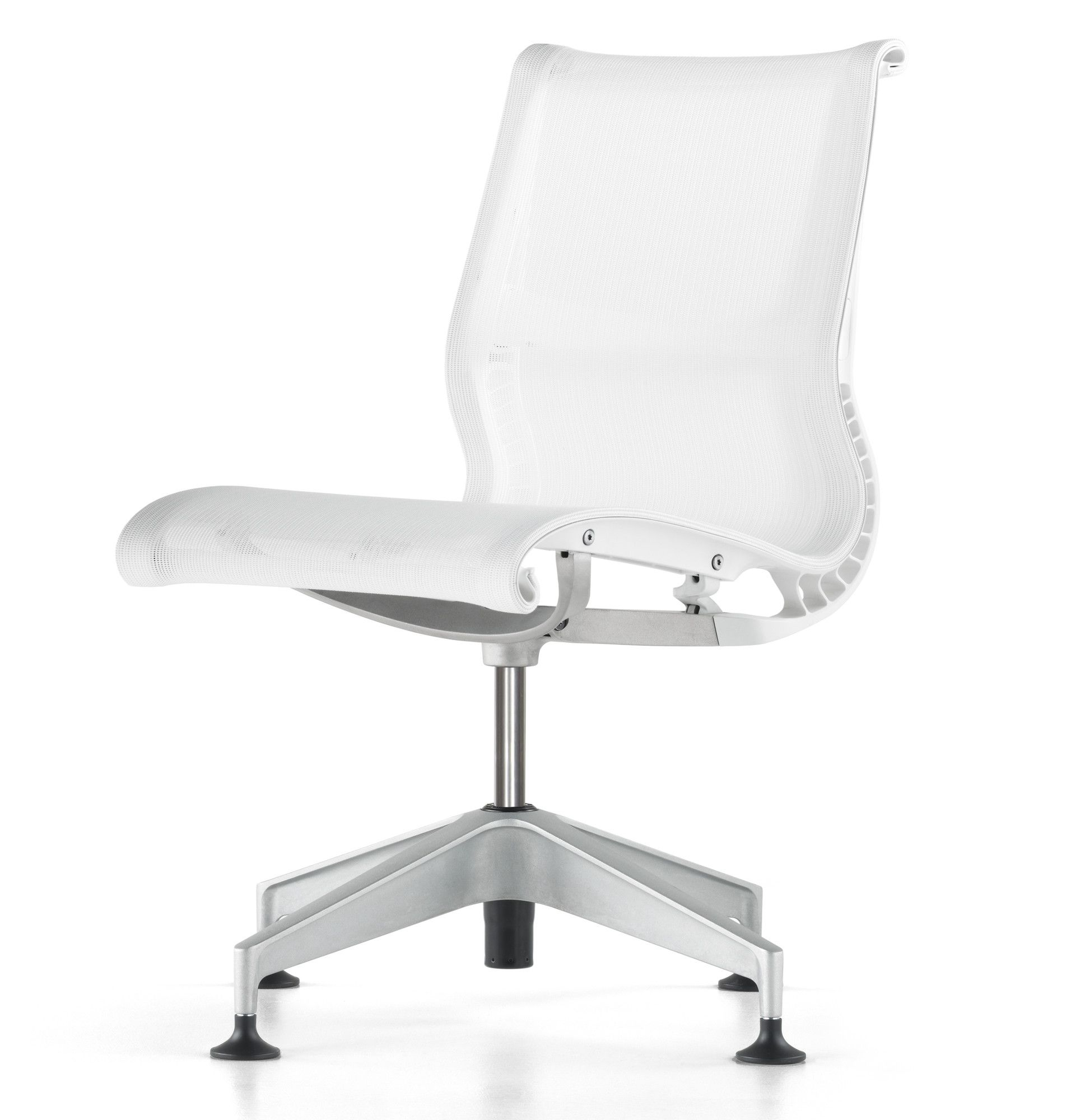 Herman Miller ® Setu 4 Star Fixed Height Task Chair In White | AllModern.co