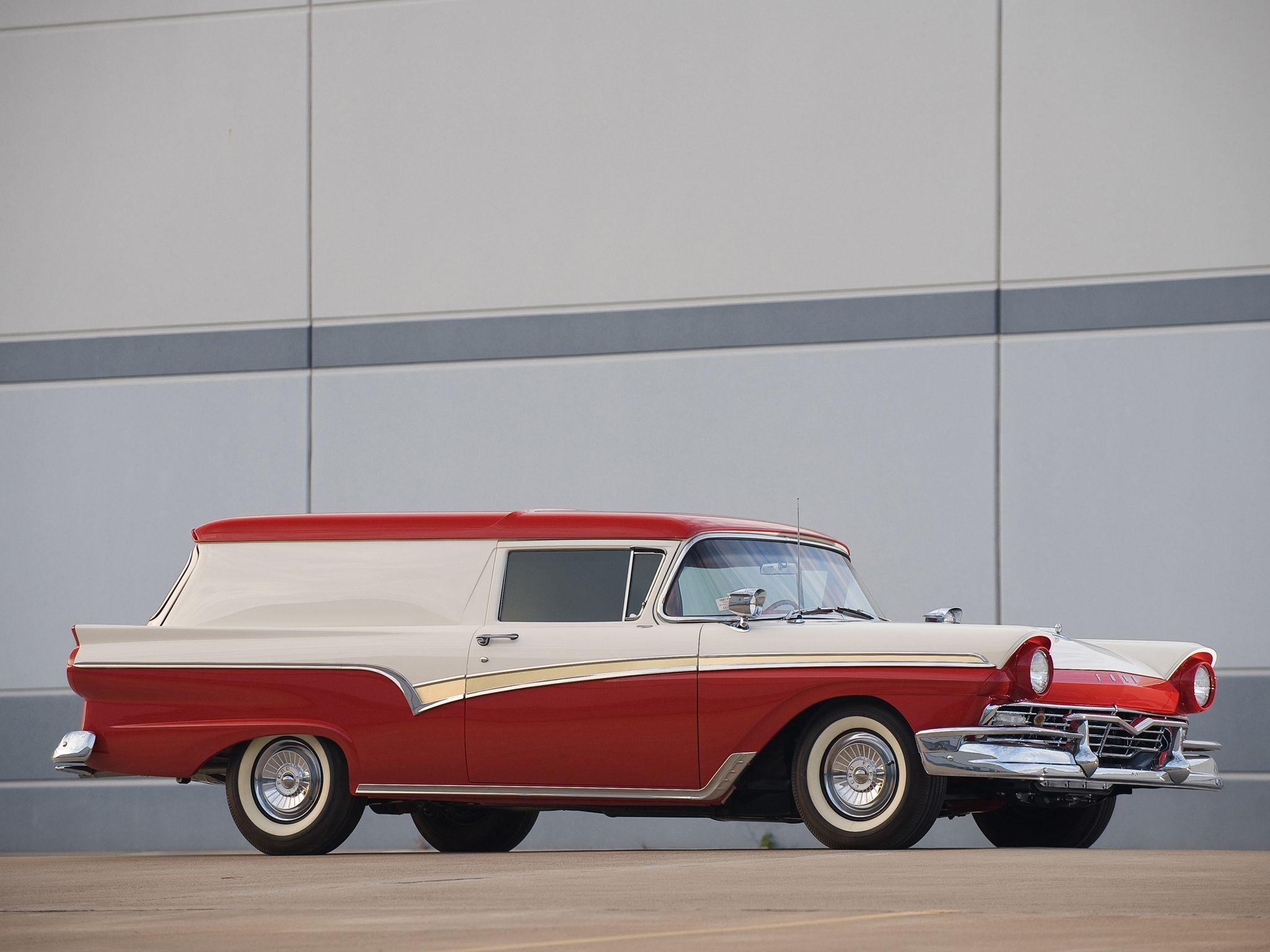 1957 ford custom 300 sedan delivery maintenance restoration of old vintage vehicles the
