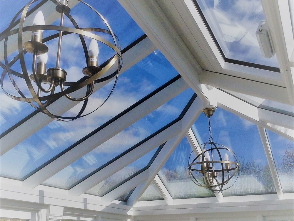 Orangery Roof Inside View Light Fittings Enhance The Whole Roof Experience Small Garden Room Ideas Sunroom Designs Orangery