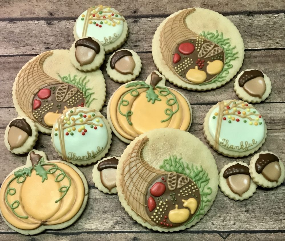 Thanksgiving 2018 by Paiges Designer Cookies