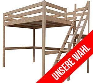 Hochbett Für Erwachsene hochbett erwachsene 140x200 sylvia etagenbetten