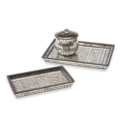 Buy Bombay Moroccan Bath Small Glass Vanity Tray From Bed Bath