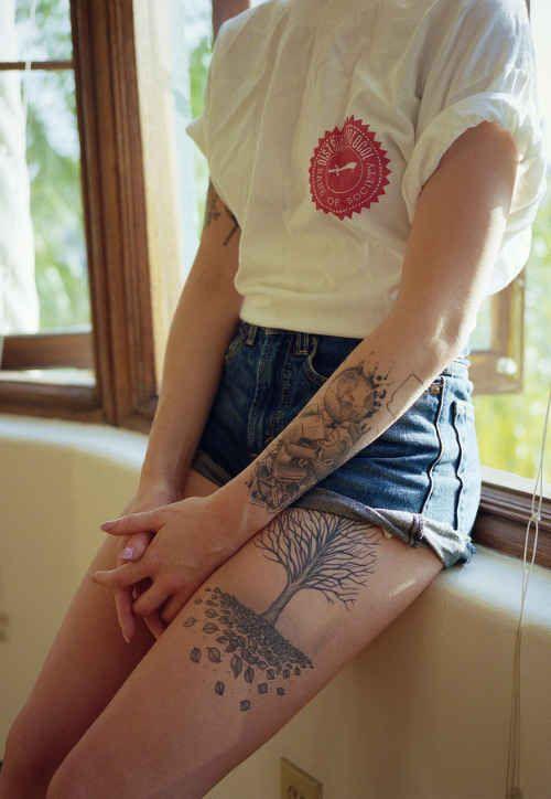 50 insanely gorgeous nature tattoos - buzzfeed | tattoos | pinterest