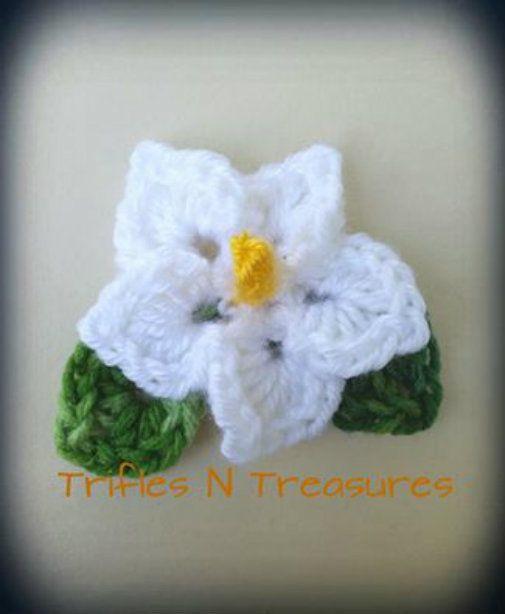 Totally Tropical Crochet Flower Pattern | Flores tejidas, Jardinería ...