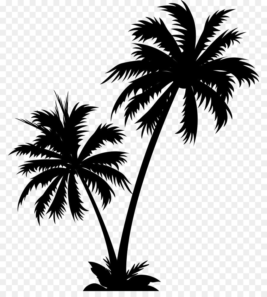 Palm Tree Silhouette Unlimited Download Cleanpng Com Palm Tree Clip Art Palm Tree Art Palm Tree Vector