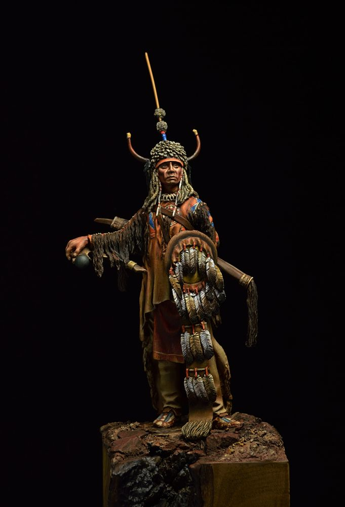 American Indian warrior toy solider.