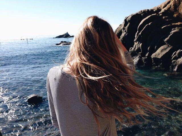 Море, волосы, фото со спины | Укладка длинных волос ...