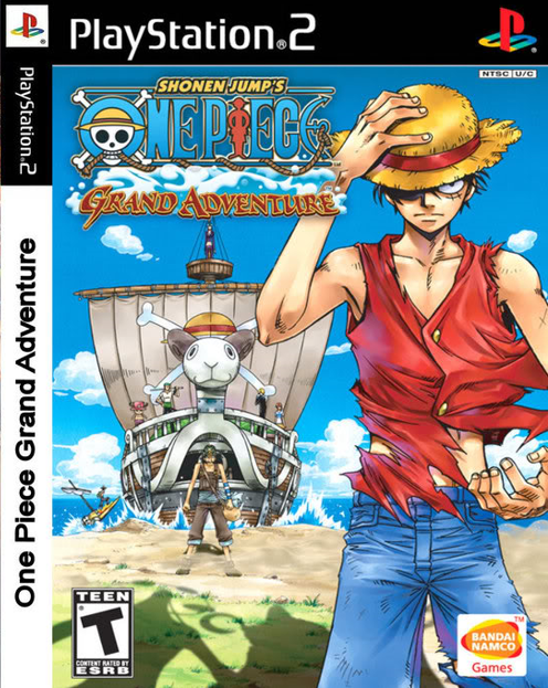 One Piece Grand Adventure PS2 ISO Free Download Gamecube