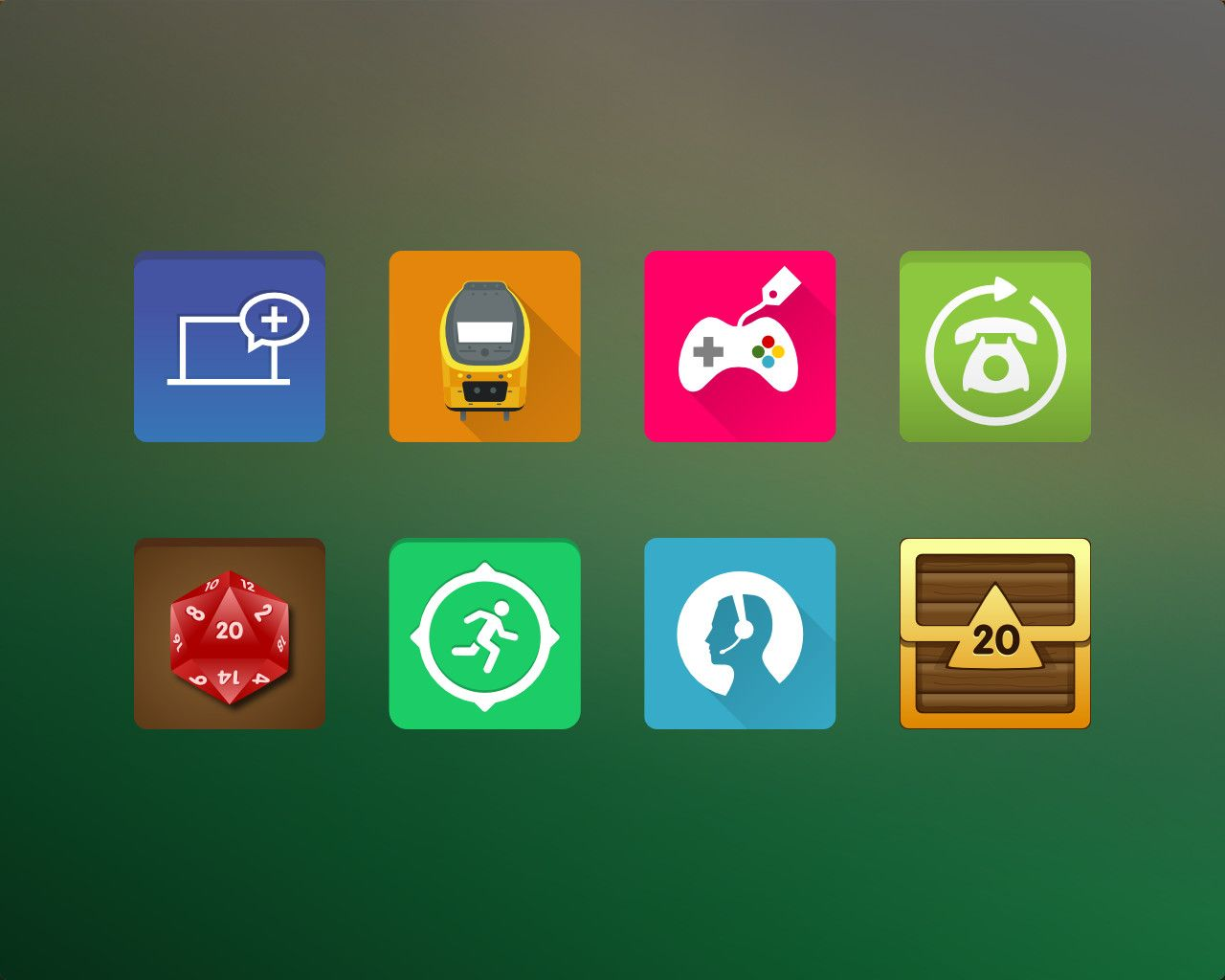 Lollipop Style Android App Icon Design by artworkbean - 63098 | BR ...