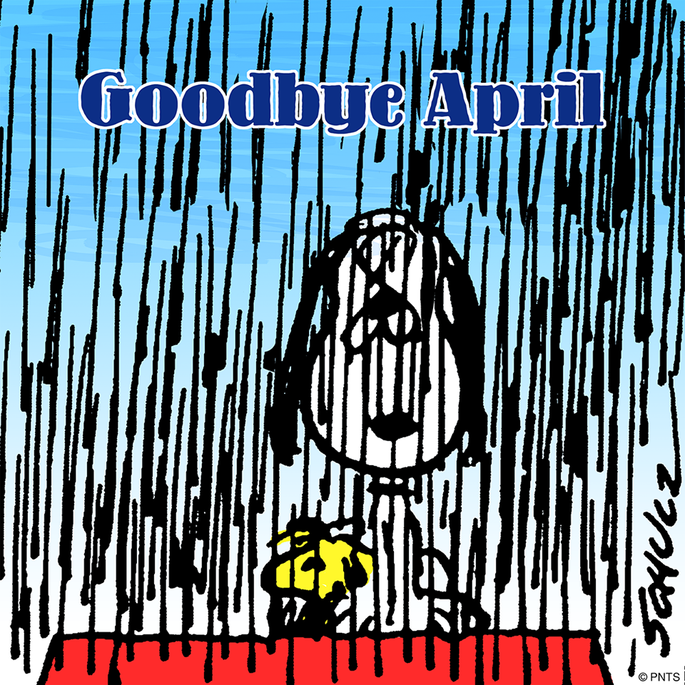 Snoopy Goodbye April Snoopy Pictures Snoopy Comics Snoopy Love