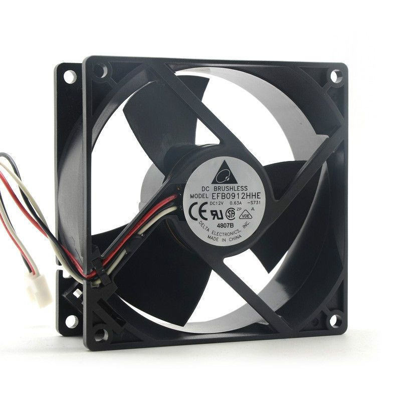 SXDOOL 12v ball bearing fan 8015 8cm 80mm 0.22A 2 wire server inverter cooling cooler