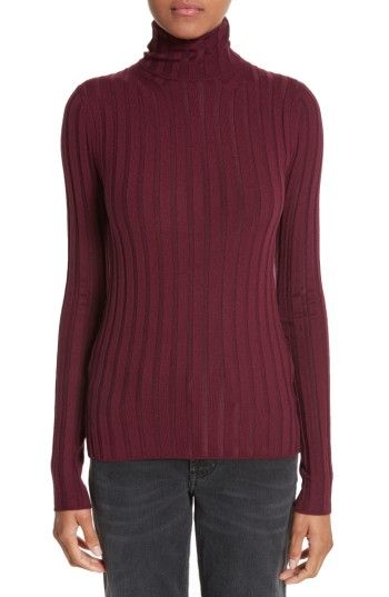 Free shipping and returns on ACNE Studios Corina Fitted Turtleneck ...