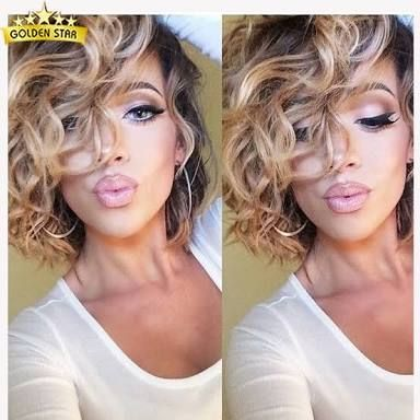 Body Wave Perm Before And After Pictures Google Search Short Curly Hairblonde