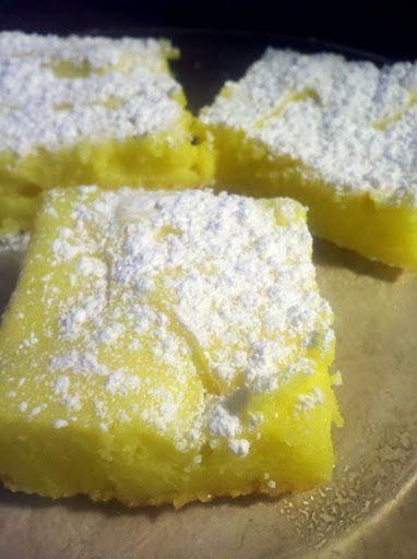 2 Ingredient Lemon Bars Mix 1 Box Of Angel Food Cake Mix