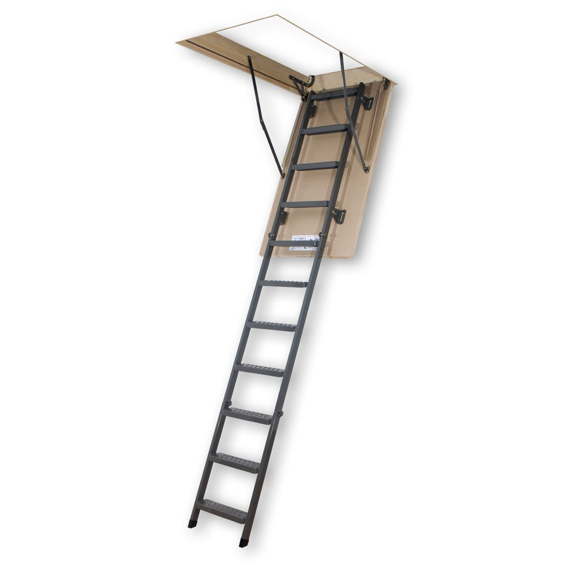 Fakro 810 ft insulated steel attic ladder 66865