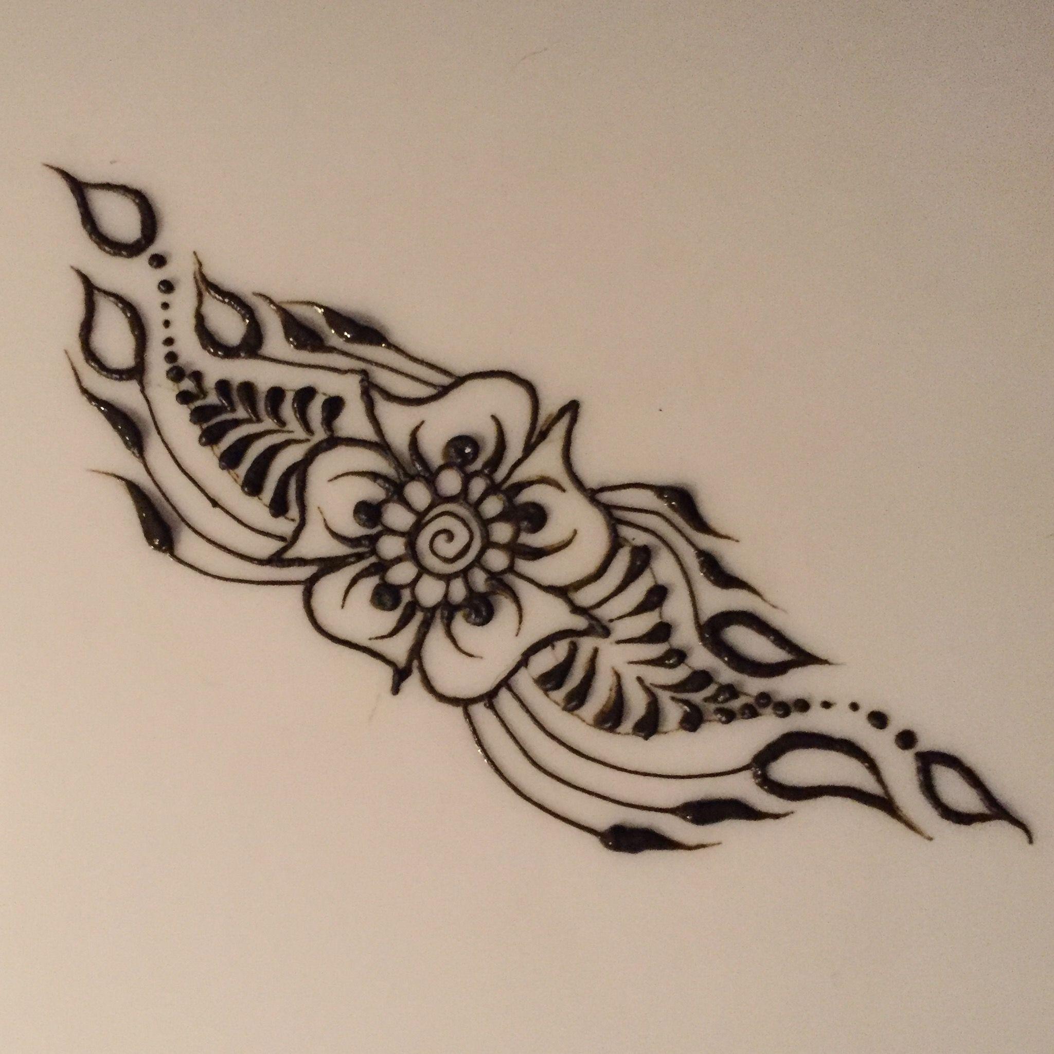 Pin By Henna On Fast Easy Henna Designs Tribal Tattoos Hand Henna Henna Designs Easy