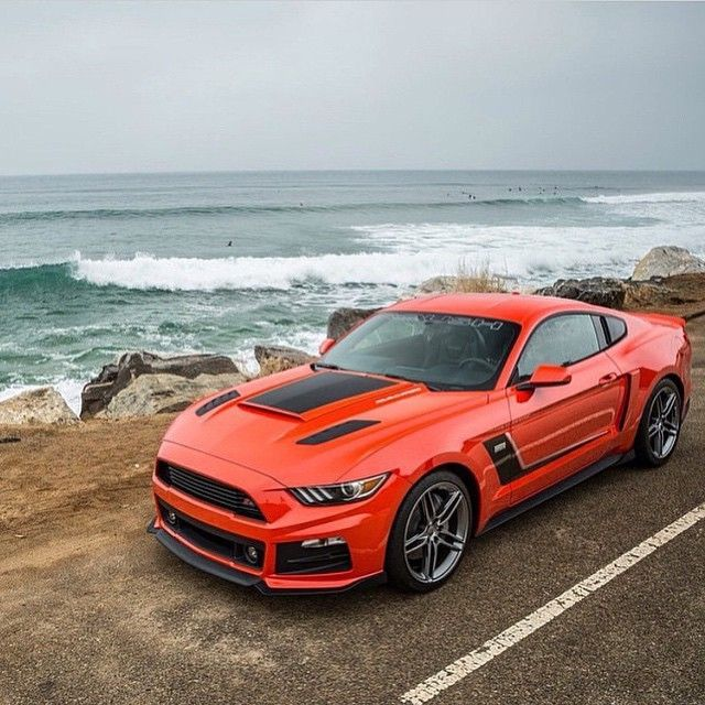Stage 3 Roush Mustang Roush Mustang Ford Mustang Pony Car