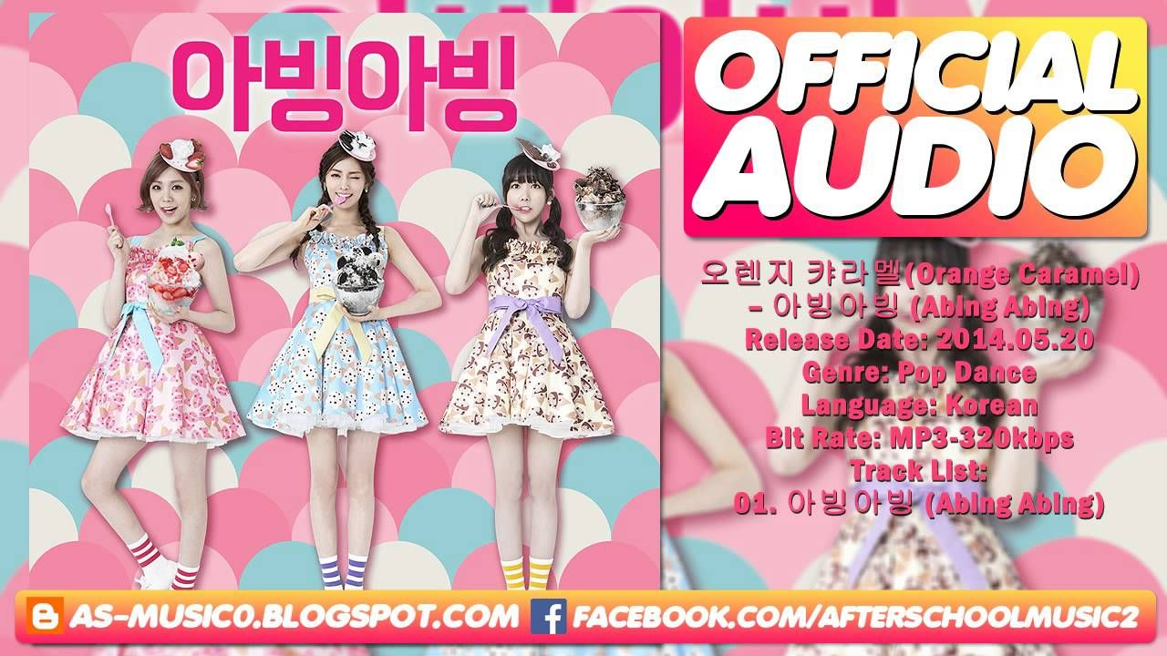 [MP3/DL] Orange Caramel (오렌지 캬라멜) - Abing Abing [Baskin Robbins CF]