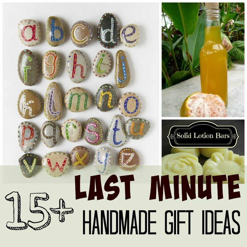 Homemade Christmas Gift Ideas They'll Love