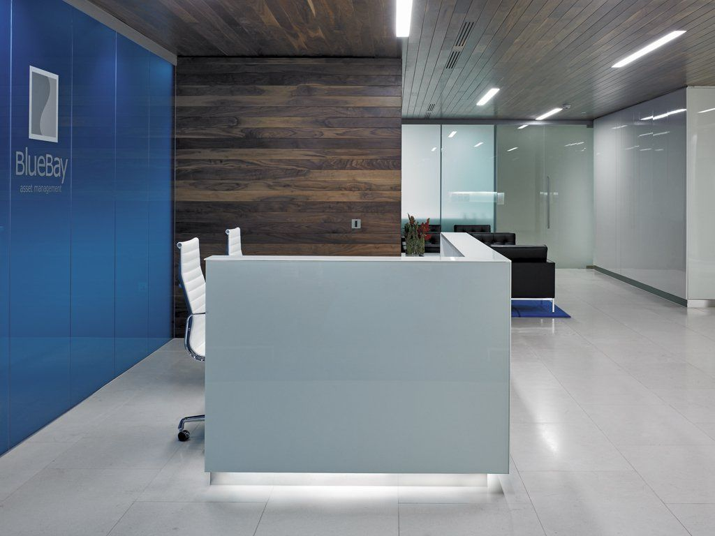 office blue. Blue Bay Asset Management | HLW Office R