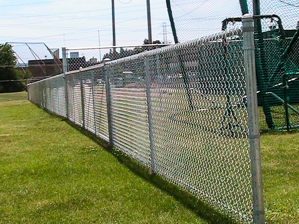 Installing Chain Link Fence Gate Metro Fence Llc In 2020 Chain