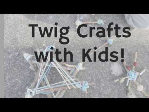 Nature-Based Projects: Twig Crafts with Kids #twigcrafts Nature-Based Projects: Twig Crafts with Kids - wildtalesof.com #twigcrafts