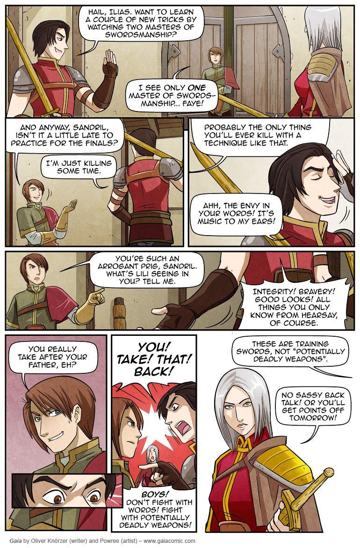 Gaia Webcomic the red hall 009 | web comics | comics, gaia, fantasy
