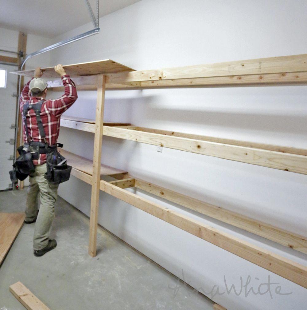 Garage Organizer Get Rid Of Garage Clutter Regal Abstellraum